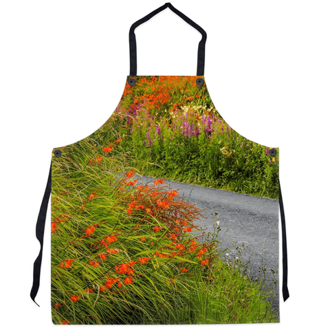 Apron - Colourful Irish Countryside Apron Moods of Ireland 29.5x32 inch