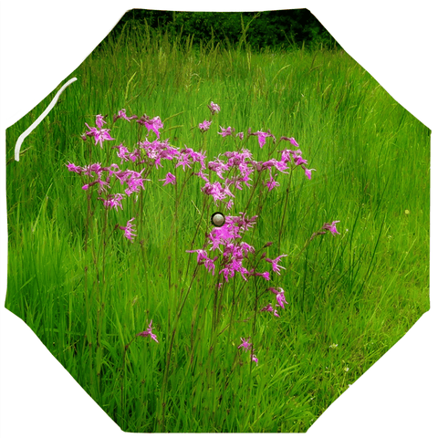 Umbrellas - Ragged Robin in a County Kerry Meadow Umbrella Moods of Ireland Auto-Foldable Umbrella
