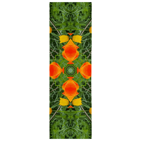 Scarves - Dancing Tulips Scarf Moods of Ireland 25x77 inch