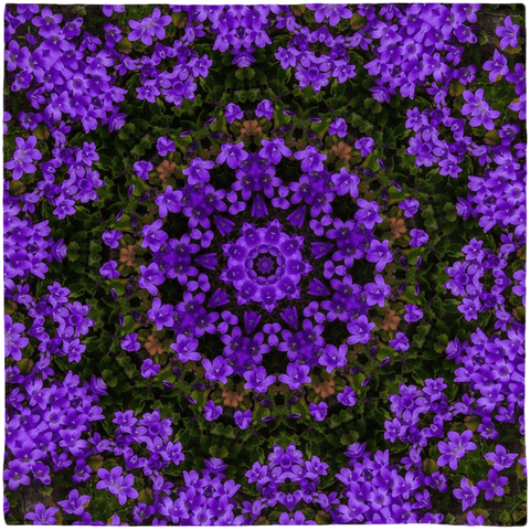 Scarves - Purple Paradise Scarf Moods of Ireland 50x50 inch