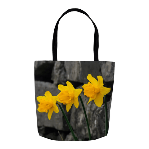 Image of Tote Bags - Aunt DJ's Daffodils Tote Bag Moods of Ireland