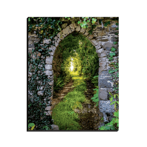Canvas Wraps - Tranquil Irish Path in County Clare Canvas Wrap Moods of Ireland 8x10 inch