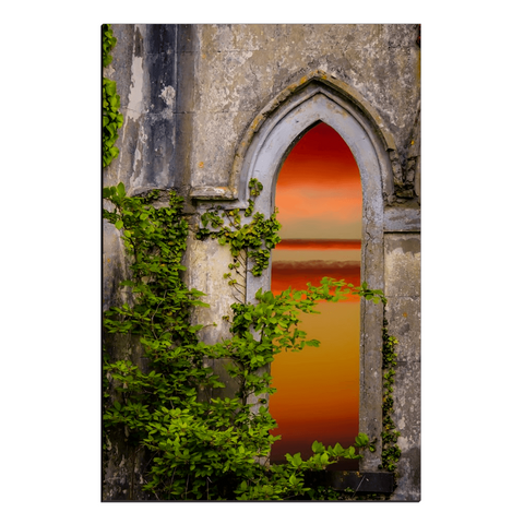 Image of Canvas Wraps - Sunrise at Paradise House near Ballynacally, County Clare Canvas Wrap Moods of Ireland 20x30 inch