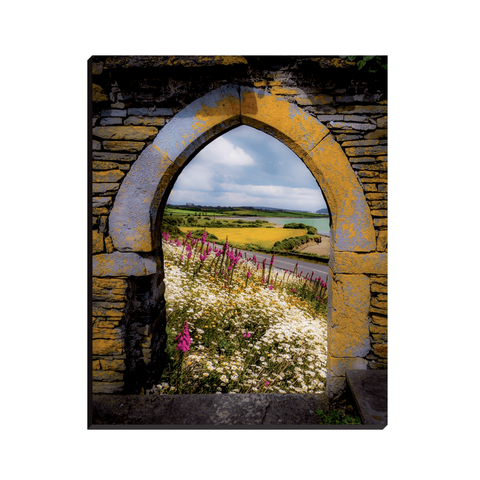 Canvas Wraps - Along the Shannon Estuary, County Clare, Ireland Canvas Wrap Moods of Ireland 8x10 inch