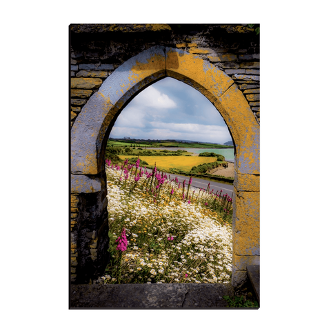 Canvas Wraps - Along the Shannon Estuary, County Clare, Ireland Canvas Wrap Moods of Ireland 12x18 inch