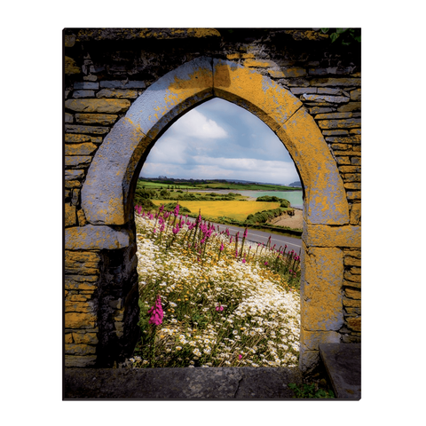Image of Canvas Wraps - Along the Shannon Estuary, County Clare, Ireland Canvas Wrap Moods of Ireland 16x20 inch