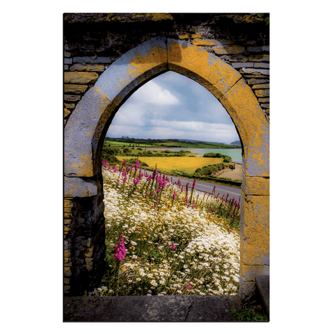 Canvas Wraps - Along the Shannon Estuary, County Clare, Ireland Canvas Wrap Moods of Ireland 24x36 inch