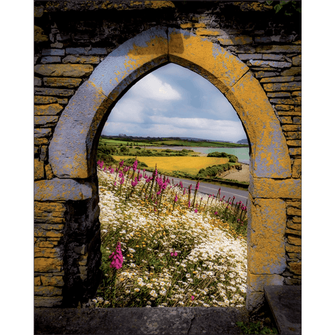 Image of Poster Print - Along the Shannon Estuary, County Clare, Ireland Poster Moods of Ireland 8x10