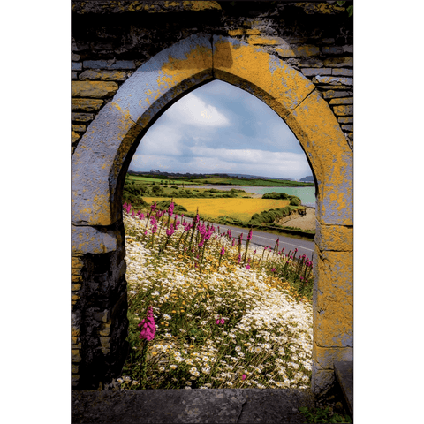 Image of Poster Print - Along the Shannon Estuary, County Clare, Ireland Poster Moods of Ireland 12x18