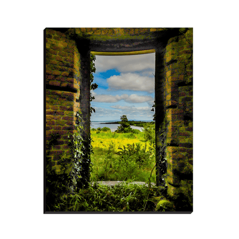 Image of Canvas Wraps - View from Paradise Estate, County Clare Canvas Moods of Ireland
