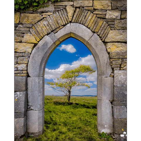 Image of Poster Print - Portal to Irish Summer, County Clare, Ireland Poster Print Moods of Ireland 8x10 inch