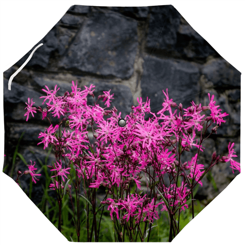 Umbrellas - Wild Irish Ragged Robin Flowers Umbrella Moods of Ireland Auto-Foldable Umbrella
