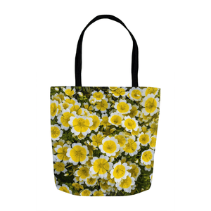 Tote Bag - Irish Poached Egg Flowers - James A. Truett - Moods of Ireland - Irish Art