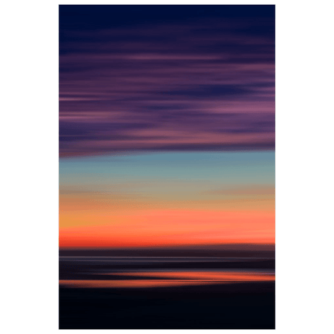 Poster Print - Abstract Sunrise over Ireland's Shannon Estuary Poster Print Moods of Ireland