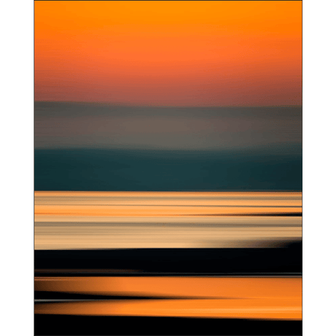 Image of Poster Print - Abstract Irish Sunrise 4 Poster Print Moods of Ireland 8x10 inch