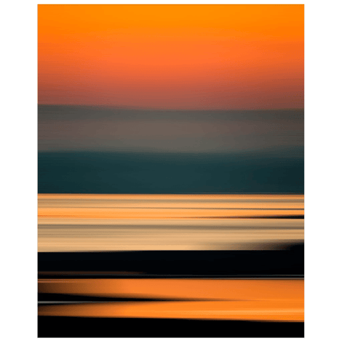 Print - Abstract Irish Sunrise 4 - James A. Truett - Moods of Ireland - Irish Art