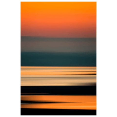 Image of Poster Print - Abstract Irish Sunrise 4 Poster Print Moods of Ireland 12x18 inch