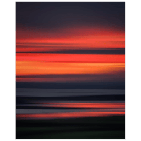 Poster Print - Abstract Irish Sunrise 7 Poster Print Moods of Ireland 16x20 inch