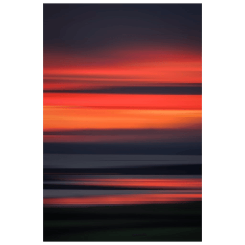 Poster Print - Abstract Irish Sunrise 7 Poster Print Moods of Ireland 12x18 inch