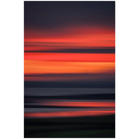 Poster Print - Abstract Irish Sunrise 7 Poster Print Moods of Ireland 24x36 inch