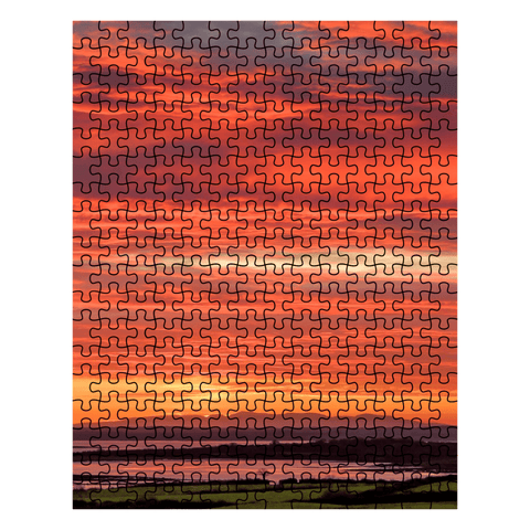 Puzzle - Firey Sky over Shannon Estuary, County Clare Puzzle Moods of Ireland 252 Pieces