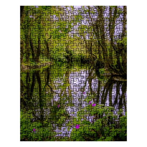Image of Puzzle - Streamstown River Reflections, County Galway Puzzle Moods of Ireland 10x14 inch