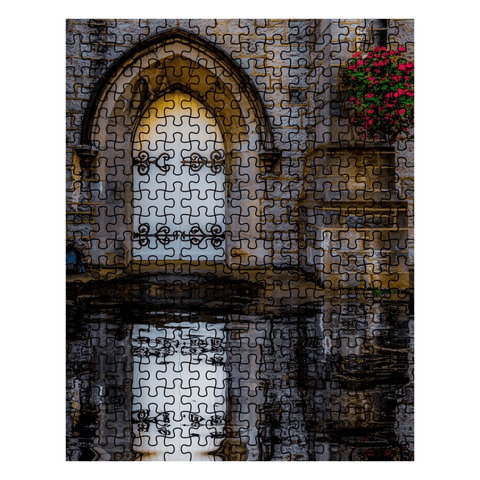 Puzzle - Reflections at St. Augustine's Church, Galway, 252 Pieces Puzzle Moods of Ireland 252 Pieces