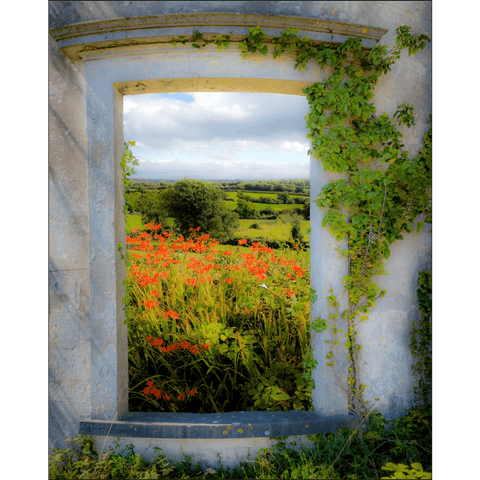 Image of Print - Summer in the County Clare Countryside - James A. Truett - Moods of Ireland - Irish Art