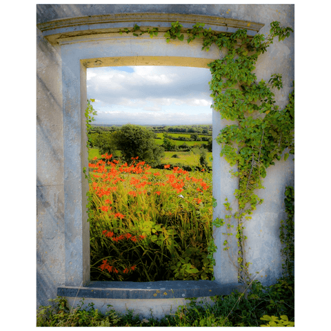 Print - Summer in the County Clare Countryside Poster Print Moods of Ireland 16x20 inch