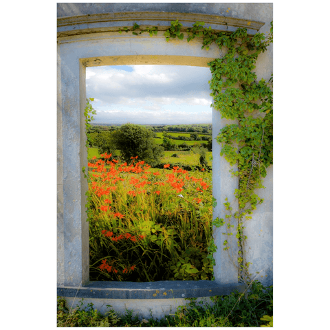 Print - Summer in the County Clare Countryside Poster Print Moods of Ireland 20x30 inch