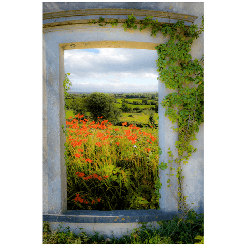 Print - Summer in the County Clare Countryside Poster Print Moods of Ireland 24x36 inch