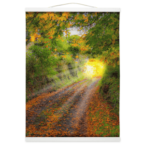 Wall Hanging - Path to Cullinan Cottage, County Clare Wall Hanging Moods of Ireland 12x16 inch White