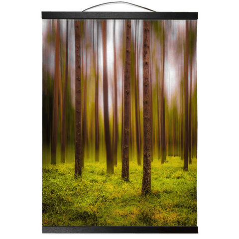 Image of Wall Hanging - Ethereal Mood in Portumna Forest, County Galway - James A. Truett - Moods of Ireland - Irish Art