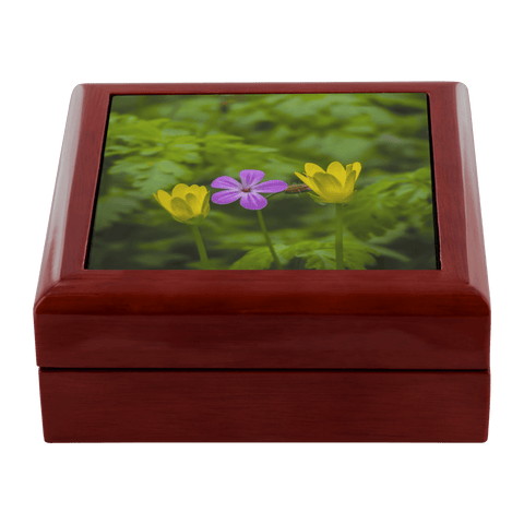 Jewelry Box - Irish Spring Wildflowers Jewelry Box teelaunch