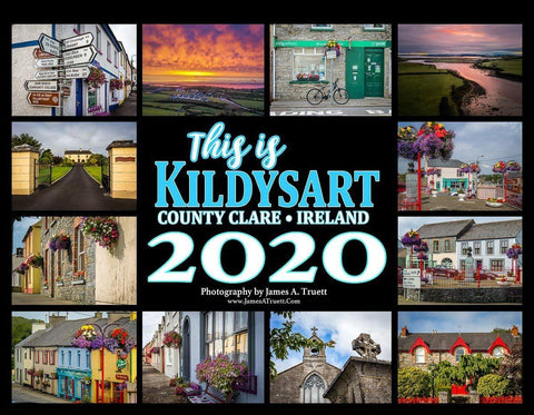 2020 This is Kildysart County Clare Ireland Wall Calendar Calendar Moods of Ireland