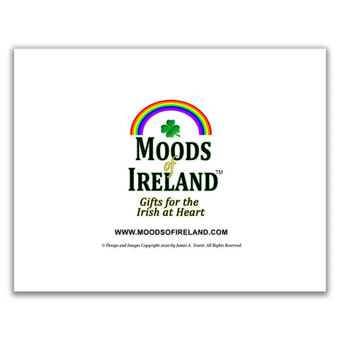 2021 Magical Irish Wildflowers Wall Calendar - James A. Truett - Moods of Ireland - Irish Art