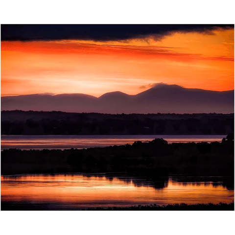 Print - Shannon Estuary Reflections at Sunrise - James A. Truett - Moods of Ireland - Irish Art