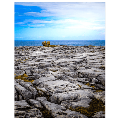 Image of Print - Rocky Burren Coast of County Clare - James A. Truett - Moods of Ireland - Irish Art