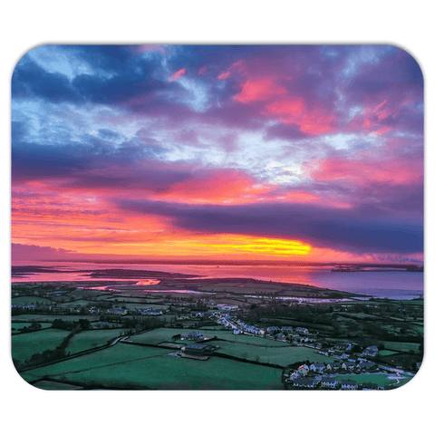 Mousepad - Magical Sunrise over Kildysart, County Clare - James A. Truett - Moods of Ireland - Irish Art