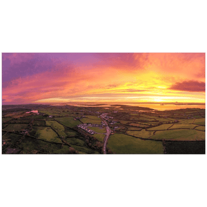 Panorama Print - November Sunrise over Kildysart, County Clare - James A. Truett - Moods of Ireland - Irish Art