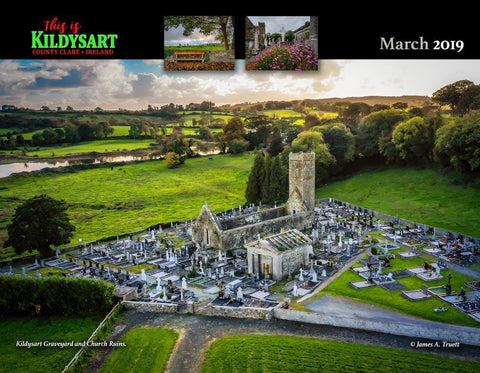 Image of 2019 This is Kildysart County Clare Ireland Wall Calendar Calendar Moods of Ireland