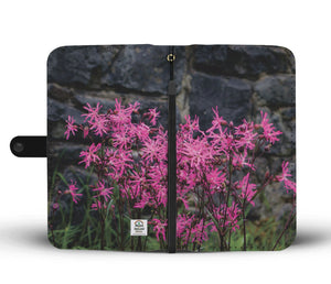 Wallet Phone Case - Wild Irish Ragged Robin