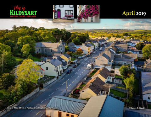 2019 This is Kildysart County Clare Ireland Wall Calendar