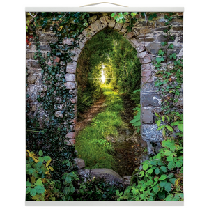 Wall Hanging - Tranquil Irish Path in County Clare - James A. Truett - Moods of Ireland - Irish Art