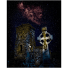 Puzzle - Night Sky over Clondegad Graveyard, County Clare - James A. Truett - Moods of Ireland - Irish Art