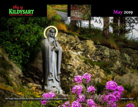 Image of 2019 This is Kildysart County Clare Ireland Wall Calendar