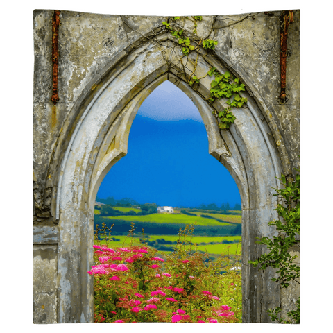 Image of Wall Tapestry - County Clare Vista Wall Tapestry Moods of Ireland 51x60 inch