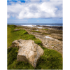 Print - Wild Atlantic Coast of County Clare's Loophead Peninsula Poster Print Moods of Ireland 8x10 inch