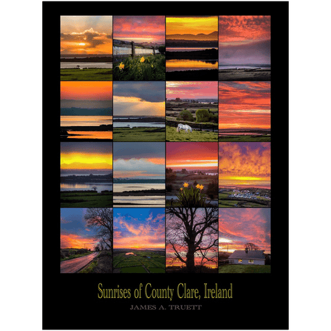 Image of Giclee Fine Art Print - Sunrises of County Clare, Ireland - James A. Truett - Moods of Ireland - Irish Art