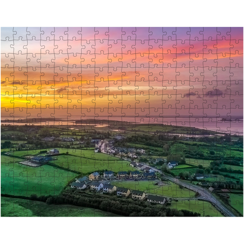 Image of Puzzle - Blue Sky over Sunrise, Kildysart, County Clare - James A. Truett - Moods of Ireland - Irish Art